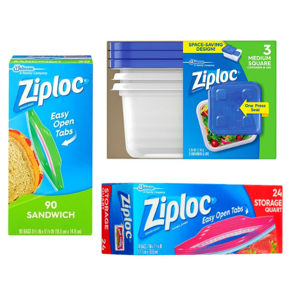 Productos Ziploc