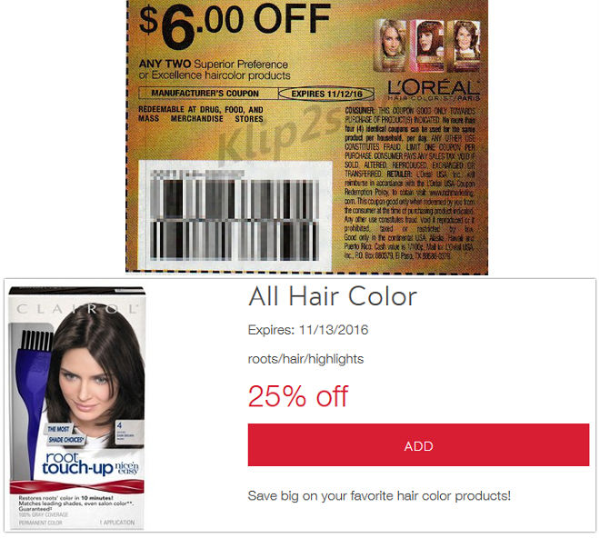 Preference Hair Color Coupon L Oreal Superior Preference