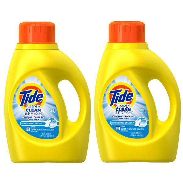 Empezando 5/14/17 — Detergente Tide Simply SOLO $1.99 en Kroger