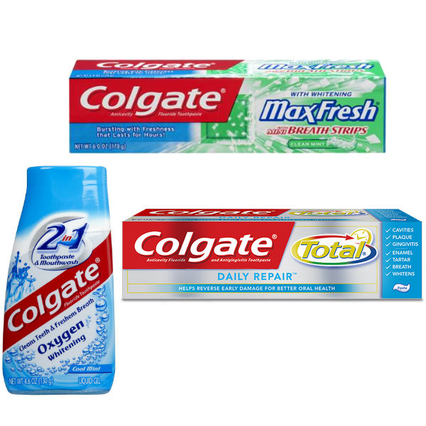 Colgate Max, Total o 2 in 1