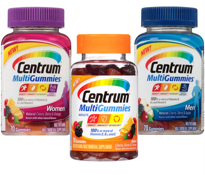 Centrum MultiGummies 70 ct