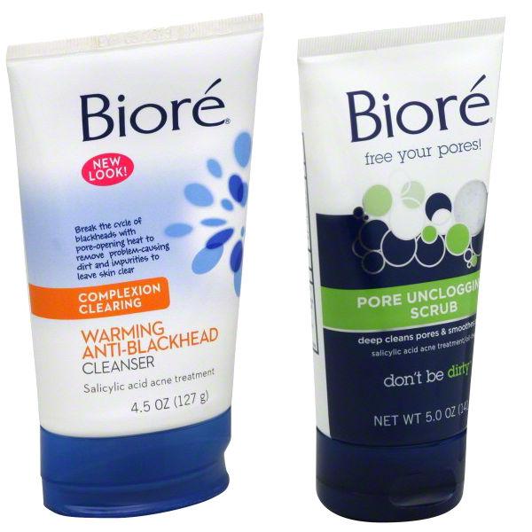Selección de Productos Biore SOLO $1.99 cada uno en Rite Aid
