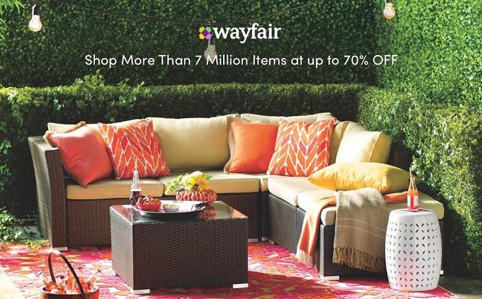 Ahorra hasta un 70 de descuento en Wayfair
