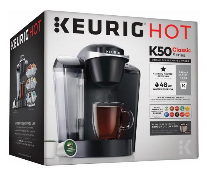 Cafetera Keurig - K50