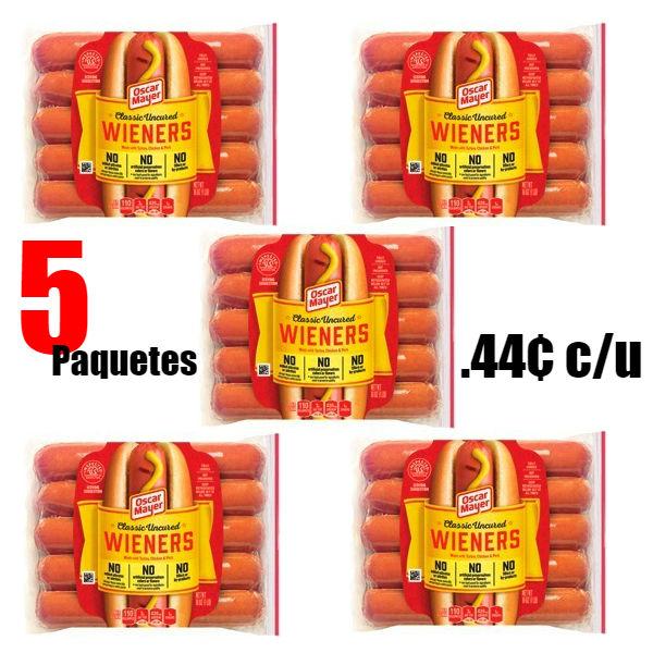 Hot Dog Oscar Mayer Wieners