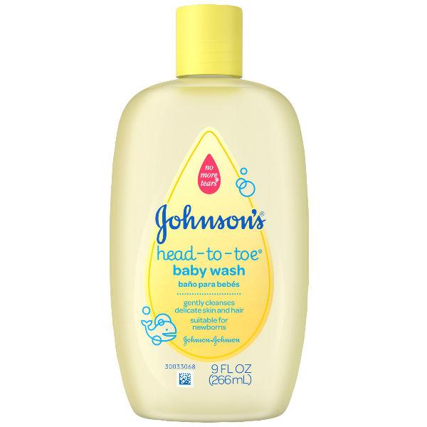 Johnson and johnson baby head to toe wash