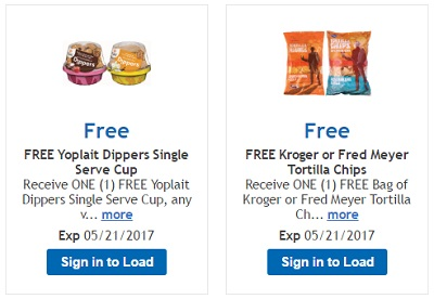 Kroger freebie coupon 5-5-17