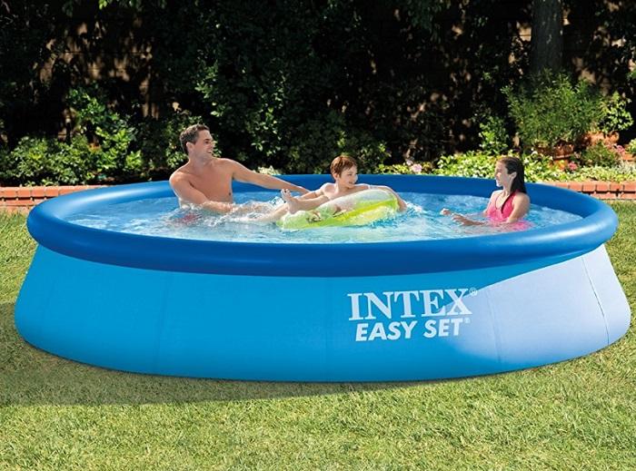 piscina intex easy set de 12 x 30 pies con filtro solo 55