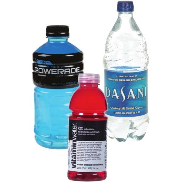 Vitaminwater, Powerade o Agua Dasani