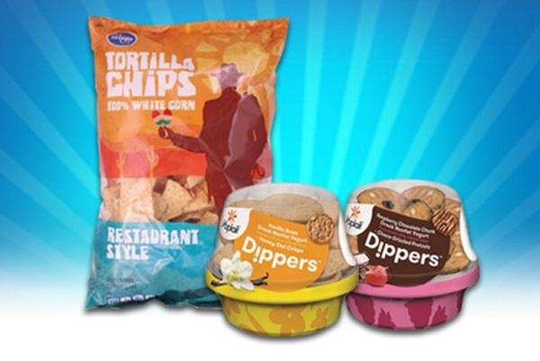 Yoplait Dippers y Tortilla Chips GRATIS en Kroger y Tiendas afiliadas
