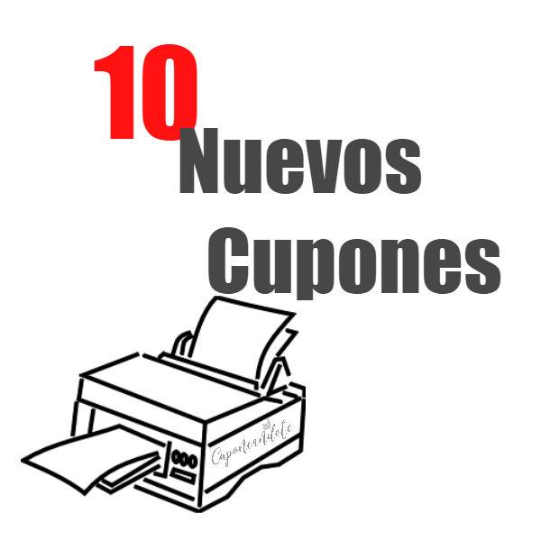 10 Nuevos Cupones