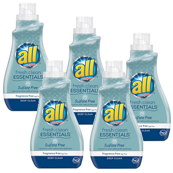 Detergente All Fresh Clean Essentials SOLO $0.49 en Kroger