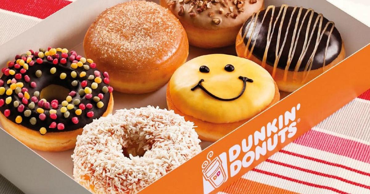 Dona GRATIS en Dunkin' Donut con Compra de una Bebida