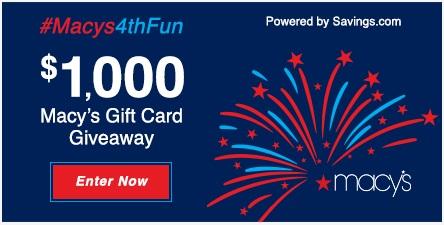 #Macys4thFun Giveaway