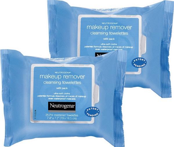 Neutrogena Makeup Remover Cleansing Towelettes SOLO $2.43 en Target