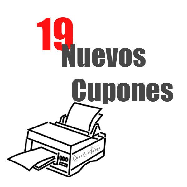 19 Nuevos Cupones
