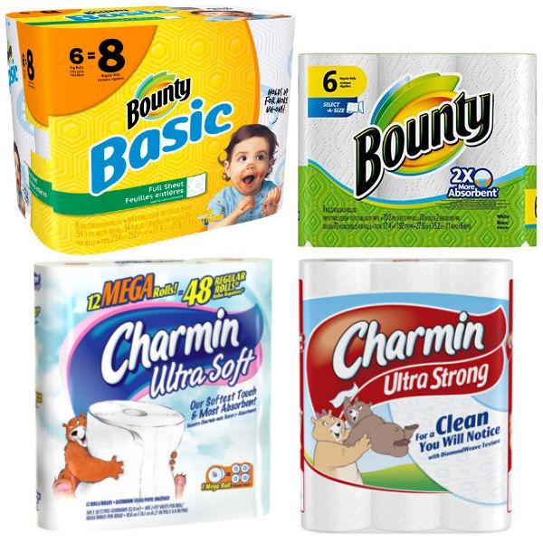 Bounty y Charmin