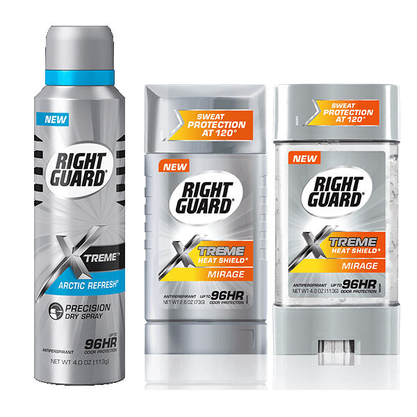 Desodorantes Right Guard