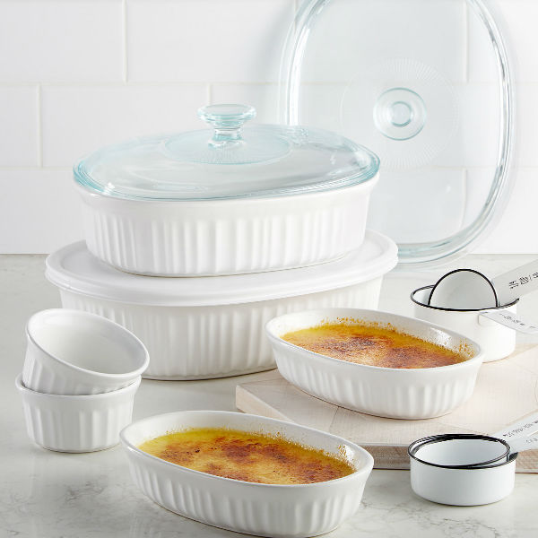 Set de 10 Piezas Corningware French White