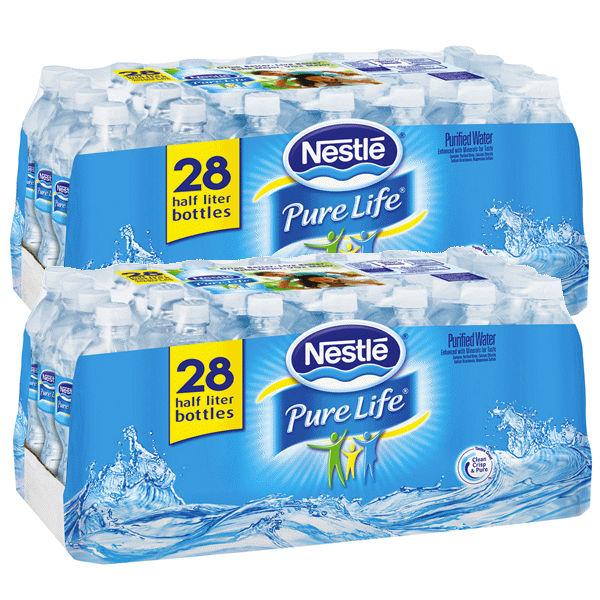 Caja de Agua Nestle Pure Life 28 ct
