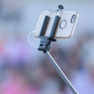 Aerb Wired Monopod Selfie Stick