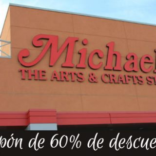 Cupón Caliente de 60% de descuento en Michael's