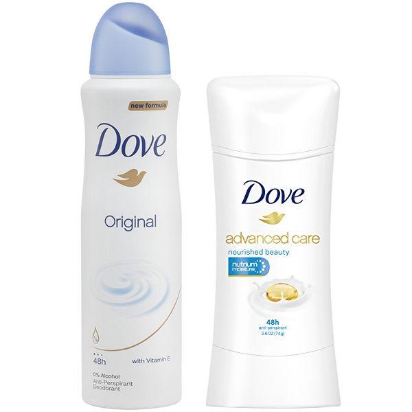 Desodorantes Dove
