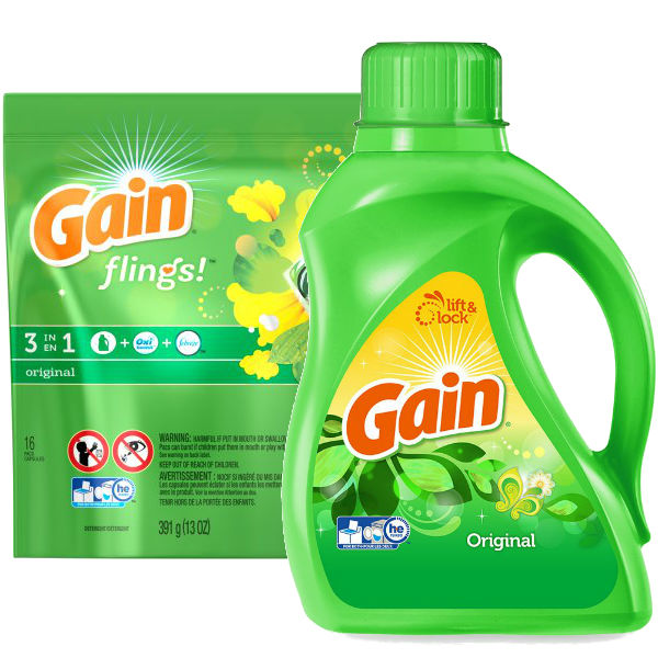 Detergente Liquido Gain o Flings