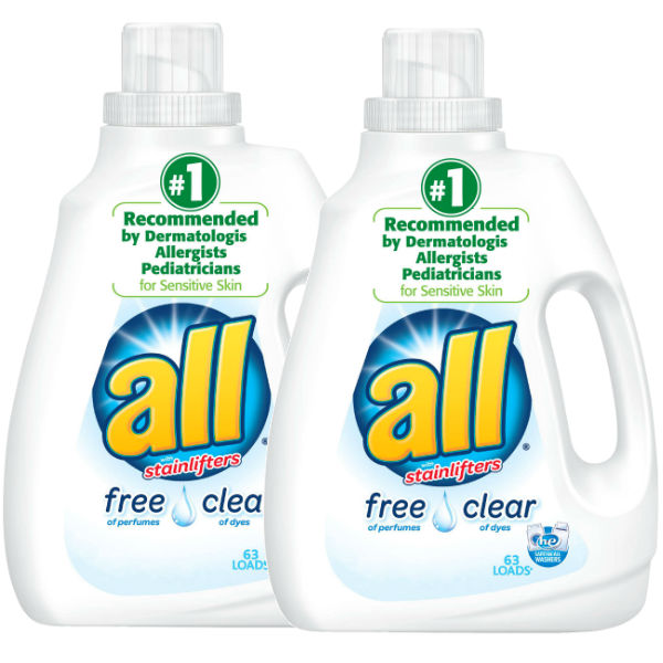 Detergentes All Liquido de 94.5 oz