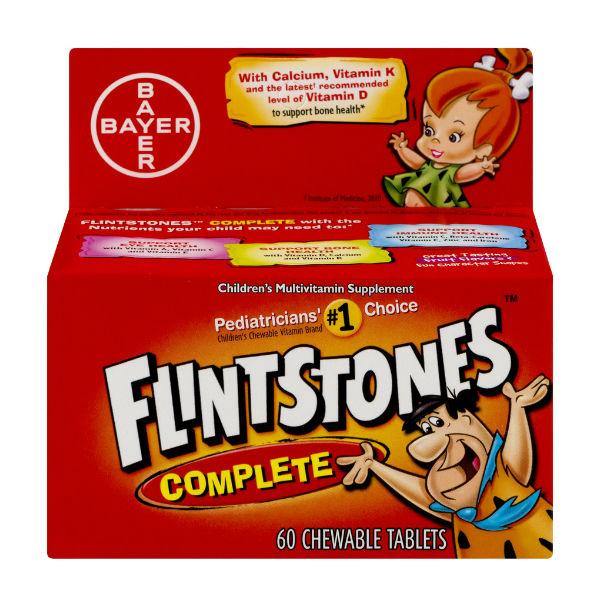 Multivitaminas Flintstones