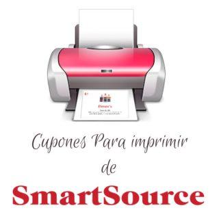Nuevos Cupones de SmartSource para imprimir