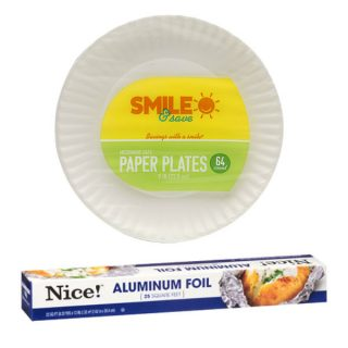 Papel de Amuminio Nice! o Platos Smile & Save