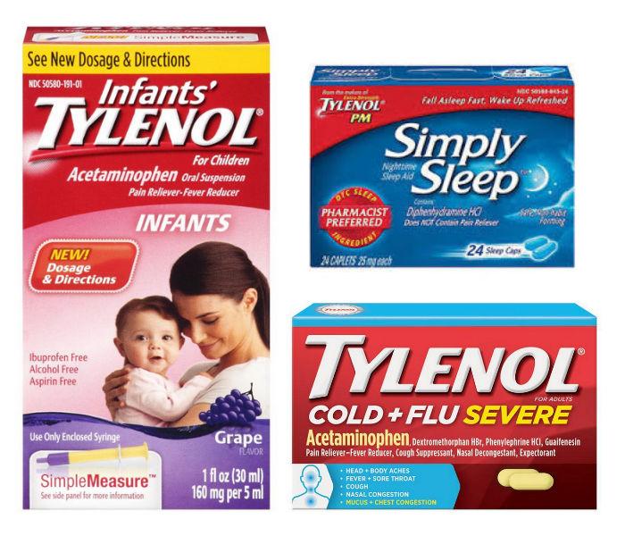Productos Tylenol