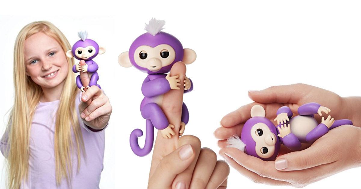 Fingerlings Interactive Baby Monkey
