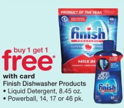 Finish Dishwasher - Walgreens Ad 11-19-17
