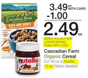 Nutella - Kroger Ad 11-29-17