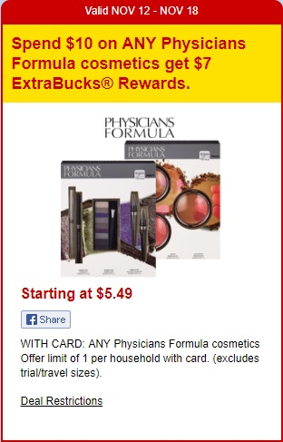 Physicians Formula - CVS Ad 11-12-17