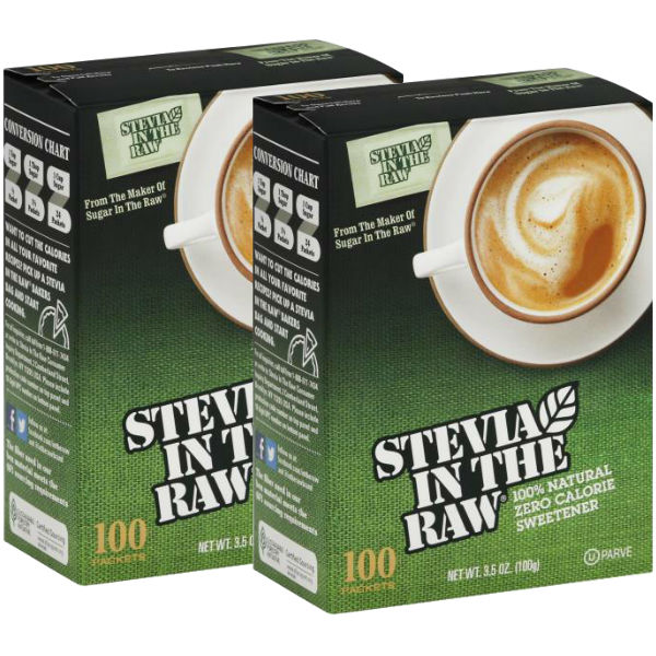 Stevia In The Raw Sweetener 100 ct
