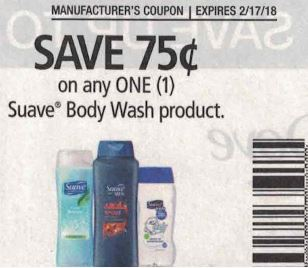 Suave Body Wash - RP 1-28-18