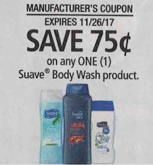 Suave Body Wash - RedPlum 11-12-17