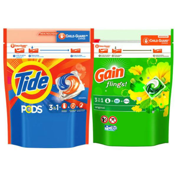 Gain Flings o Tide Pods