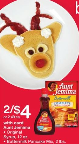 Buttermilk Pancake Mix - Walgreens Ad 12-17-17