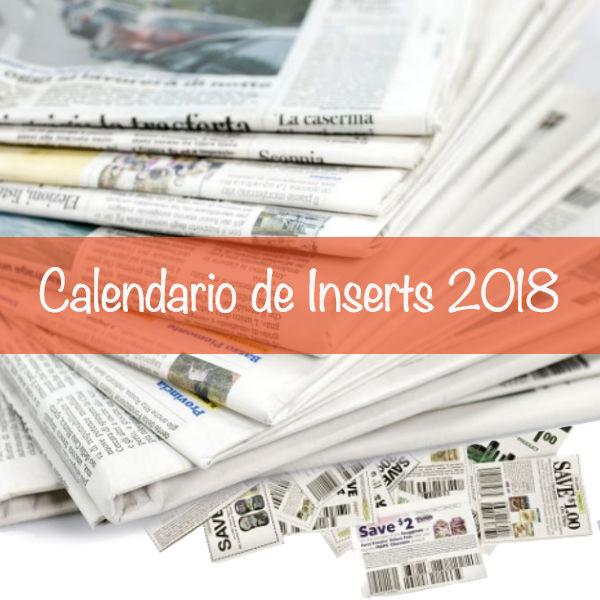 Calendario de Inserts 2018