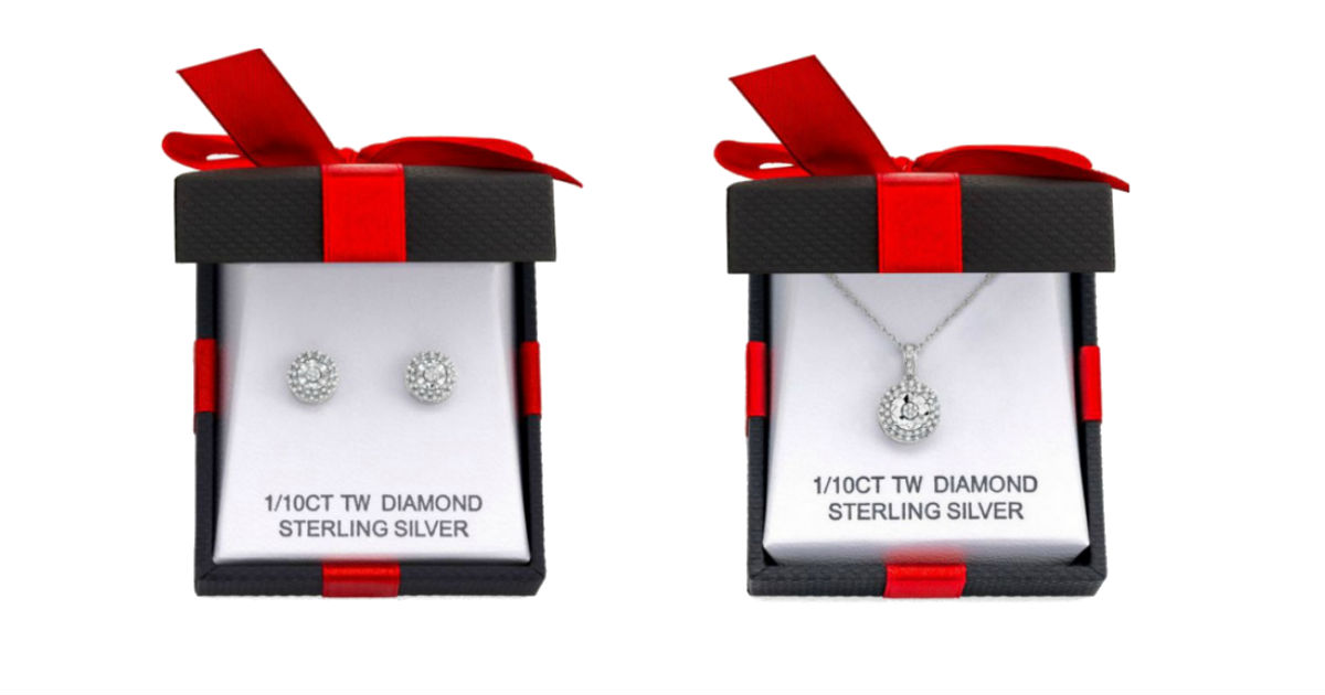 Pantallas o Collar Sterling Silver Diamond
