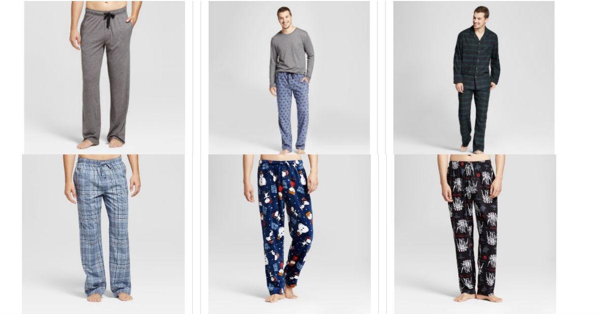 Pijamas para Hombres al 40% de descuento en Target