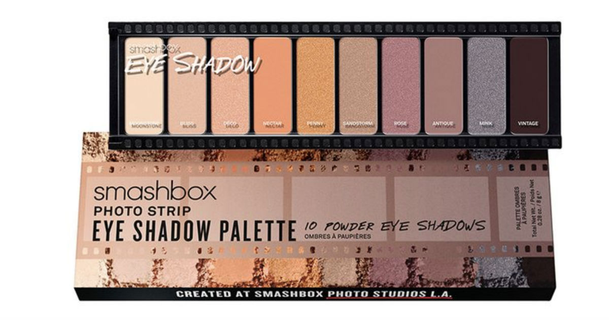 Roll over image to zoom in SMASHBOX Photo Strip Eyeshadow Palette
