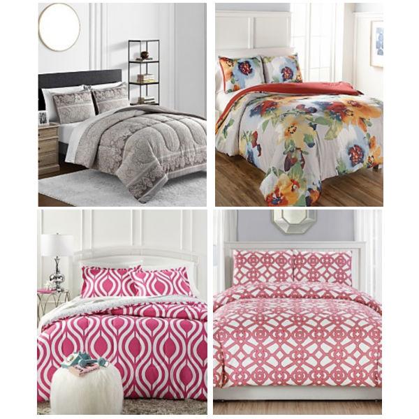 Sets de Comforter Reversibles de 3 Piezas
