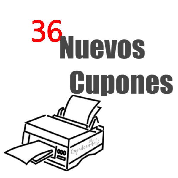 36 Nuevos Cupones