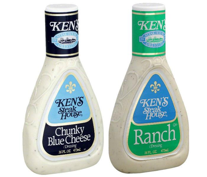 Aderezos para ensalada Ken's