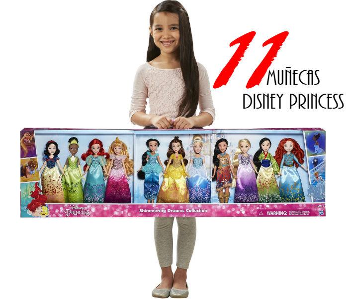 11 Muñecas Disney Princess